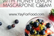 Fresh Fruit Recipes & Drinks / Fresh Fruit Recipes and Drinks - Salads, Desserts, Jams, Party Foods, Sodas, Smoothies and More.