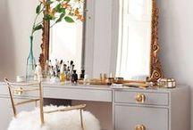 Home - Office//Vanity / Work // Beauty // Knick-Knacks