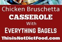 Casserole Recipes / Breakfast, Lunch, Dinner and Game Day Snacking casserole recipes. When you don't know what to make a casserole can make the day!