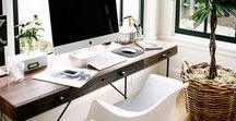 Home office dreaming / Home office ideas for a Virtual Assistant