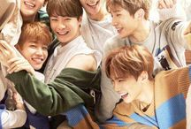 ASTRO  / Show them on the show, 'To Be Continued' and fell in love with them. Man, they're voices are phenomenal, that's why I love them.