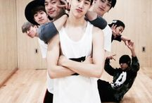 GOT7 / I don't know to say about these boys or even what to expect from them either, butttt they are incredibly hilarious.