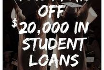 Paying off Student Loans | Student Debt  * Sallie Mae - Navient *