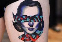 Tatuajes contemporáneos / Galería de tatuajes contemporáneos y experimentales.