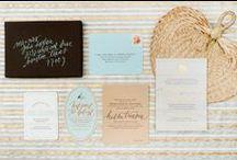 INVITES / by Katie Beth Owens