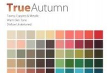 THE True Autumn Color Analysis / This Personal #Color Analysis palatte is tawmy, coopery & metallic with warm hue, medium value and medium chroma. Contact certified color #analyst Lisa K. Ford at www.inventyourimage.com or 813-766-8375. / by Invent Your Image by Lisa K. Ford