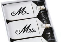 ♥ Mr. and Mrs. ♥ / Fun and unique gifts for newlyweds