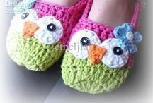 Crochet-Slippers/Accessories-Kids