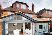Extensions / Adding an extension can drastically increase your scope for turning your pad into a dream home