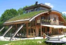 Eco Homes / If you're looking to build your own eco home, here's some examples to help get the creative juices flowing