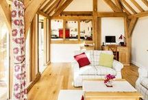 Oak Frame Homes / Be inspired by these beautiful oak frame homes