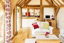 Oak Frame Homes / Be inspired by these beautiful oak frame homes