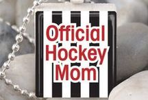 Gifts for Hockey Moms / Who doesn't love hockey?  And nobody loves hockey more than Hockey Moms!  Here's a great collection of gifts for hockey moms, players, and coaches, including jewelery, clothing, hockey stick decorations, and signs.  Game on!