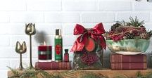 the smell of christmas \\ aromatique / Our inspiration and portrayal of The Smell of Christmas -Scents of Citrus, Spice, and Natural, Festive Botanicals