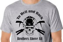 Firefighter Shirts / Great collection of firefighter tees, long sleeve and sweatshirts.