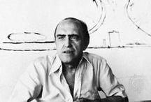 Oscar Niemeyer / Niemeyer (1907-2012) was a Brazilian architect, a key figure in the development of modern architecture