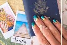 Travel Themed Nails / Travel themed nails and cute nail designs from around the world