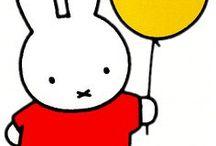 Kinderboekenhelden / Over Nijntje, de Gruffalo, Kikker, Jip en Janneke, Rupsjenooitgenoeg en nog veel meer grote kinderboekhelden voor de kleinste lezertjes. Ons lievelings bord!