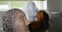 Scultura-Sculpture / Sculture in argilla (Clay sculputres)