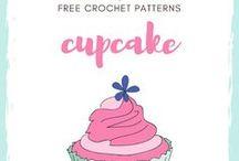 Cupcakes / Free Crochet Cupcake Patterns