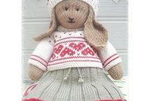 knit Toy / 대바늘 인형