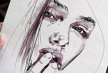 Drawing & Painting / Drawing, painting, art, drawing ideas, artwork, artist, portrait drawing, animal drawing, pencil drawing, inspiration
