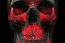Skull Art Illustration