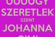 Szent Johanna Gimi!