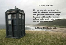 Books Are My TARDIS / favorite reads, books, library and book stuff!