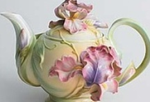 China and teapots / by Harriet Swindell