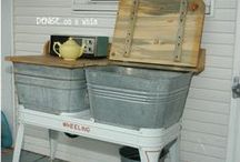 flea market fabs and diy ideas / I'm pretty crafty. Maybe I could tackle these really cool ideas. If not, maybe someone I know could tackle them for me. :) / by Denise...On a Whim