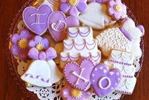 Wedding-ish cookies / by Kelley Hart-Jenkins