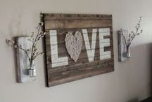 DIY: Decor / DIY home decor for the crafty chicks.