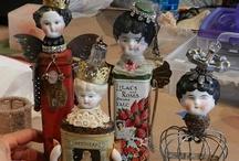 Art dolls / by Harriet Swindell