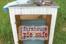 fantastic furniture / Chalk paint, distressing, transforming. What's not to love? / by Denise...On a Whim