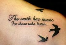 Writing with Meaning / Meaningful Tattoos