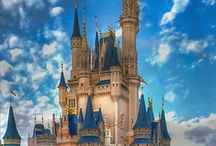 """Disney- """"It all started with a Mouse"""" / Everyone should have a chance to experience Disney World. Disney is concept created by a man who had dreams and goals to make people happy for years to come. From movies, parades, themed food, themed parties, roller coasters, family rides, characters, music, and more; every age is welcome."""