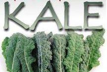 K is for Kale / by Wendy Janzen