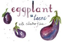 E is for Eggplant / by Wendy Janzen