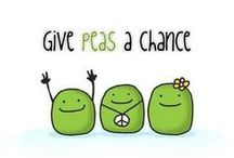 P is for Peas / by Wendy Janzen