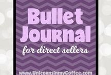 Bullet Journaling for Direct Sales / Bullet Journaling is great for organization and planning! Direct Sales can be a whole different beast in what you need to track. We share our inspiration and plan on this board and hope you find some value here! If you want more info -- come join our group www.unicornsinmycoffee.com/bujo If you would like to join the group board... follow me, email me lularoetamiolsen at gmail.com with the subject: Bullet Journal Group Board and your pinterest email. I look forward to pinning with you!!