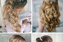 Wedding hairstyles.