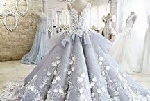 Ball gowns.