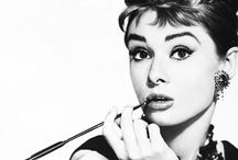 Audrey Hepburn / Audrey is the only person I aspire to be