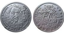 Plaster models - Miroslav Hric / Mix of plaster models of coins and medals