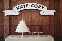 Weddings / Cakes + Sweets / Cakes and other sweet treats for your wedding day!