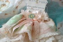 paper dresses, dolls, softies, and frilly girlie  items / by Anna Bishop