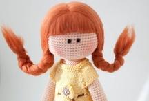 Amigurumi: dolls / by Laura Keykens
