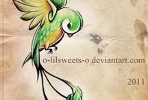 Doodling birds~animals / by Anna Bishop