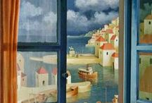Window  View - Art